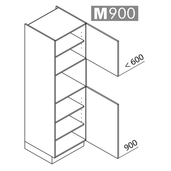 Nolte Küchen Hochschrank Geräteschrank GB195-4