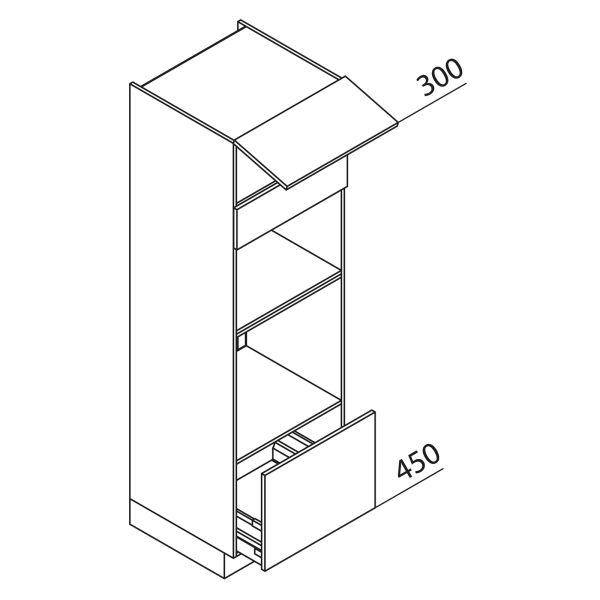 Nolte Küchen Hochschrank Geräteschrank GBBA195-3-2-01