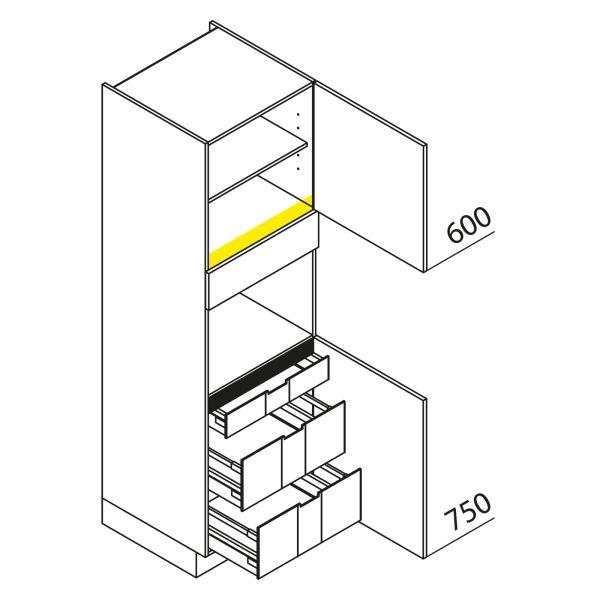 Nolte Küchen Hochschrank Geräteschrank GBI195-2