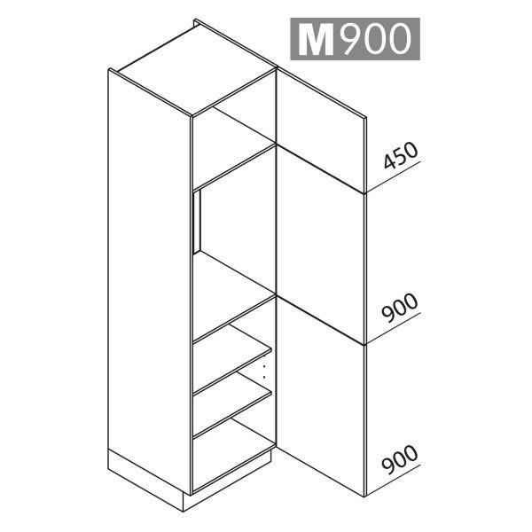 Nolte Küchen Hochschrank Geräteschrank GK225-88-01