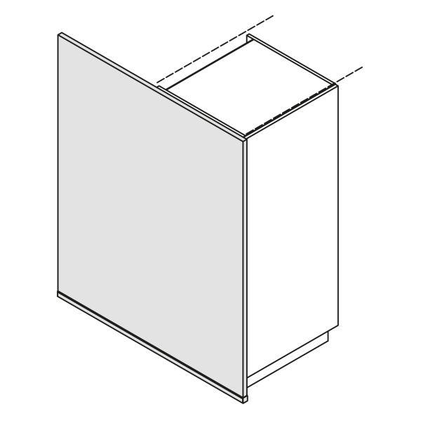 Nolte Küchen Hochschrank Wange Bodentief WA-S135-120