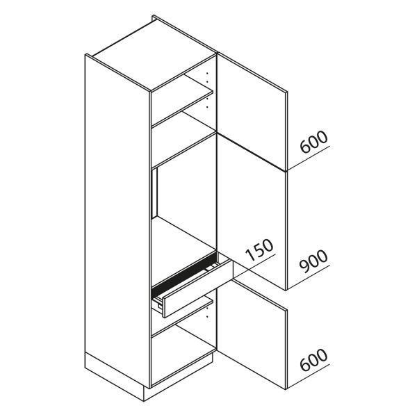 Nolte Küchen Hochschrank Geräteschrank GKS225-88