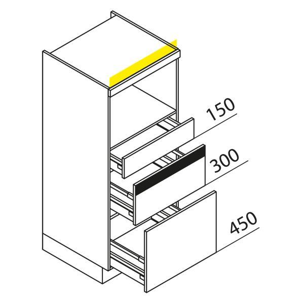 Nolte Küchen Hochschrank Geräteschrank GBZ135-1