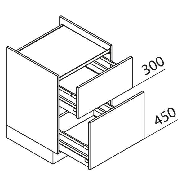 Nolte Küchen Unterschrank Kochstellenschrank KUZ100-H2