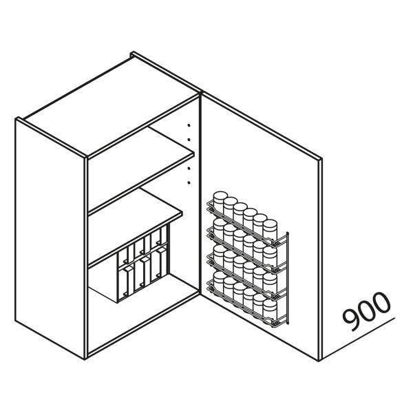 Nolte Küchen Hängeschrank Gewürzschrank HGL40-90