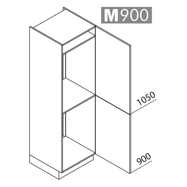 Nolte Küchen Hochschrank Geräteschrank GKK195-88-88