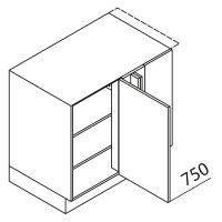 Nolte Küchen Unterschrank Eckschrank UEEAD110-65