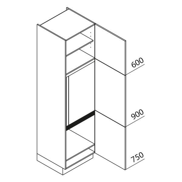 Nolte Küchen Hochschrank Geräteschrank GKG225-144