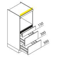 Hochschrank Geräteschrank Nolte Küchen GBAK135-2