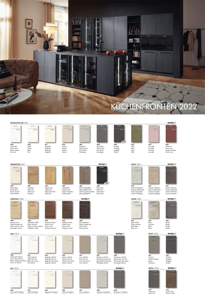 Nolte Küchen Katalog Produktübersicht