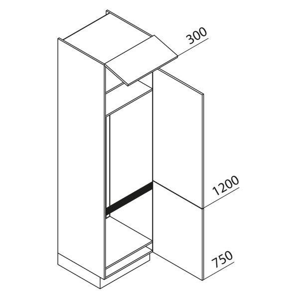 Nolte Küchen Hochschrank Geräteschrank GKG225-159-09