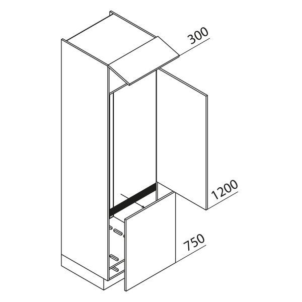 Nolte Küchen Hochschrank Geräteschrank GKGU225-178-02