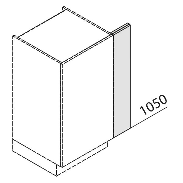 Nolte Küchen Hochschrank Passstück Frontbezogen SP1-105
