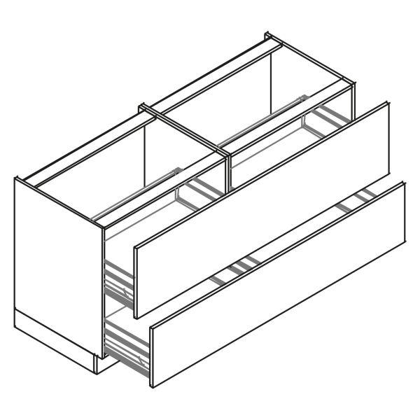 kitchenz k1 Unterschrank DU6-180Z2