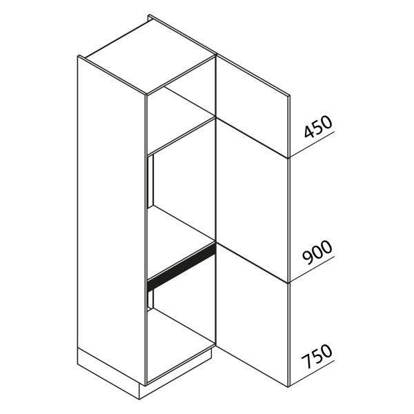 Nolte Küchen Hochschrank Geräteschrank GKK210-72-88