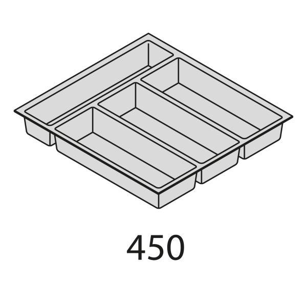 Besteckorganisation Kunststoff BEI45-50