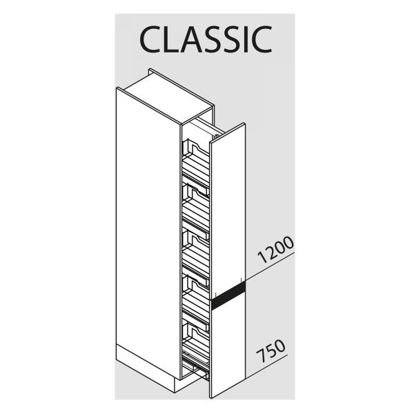 Nolte Küchen Hochschrank VVA30-195