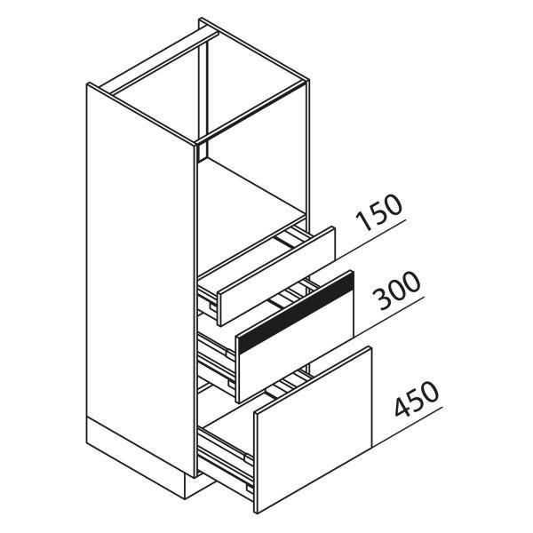 Nolte Küchen Hochschrank Geräteschrank GBZ150-3