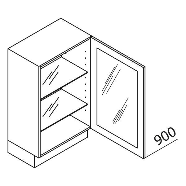 Nolte Küchen Unterschrank mit Glastür DS UDDDS45-90-39