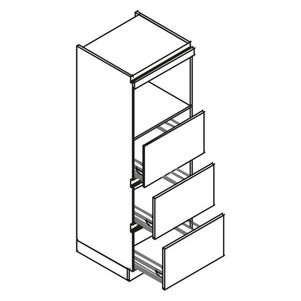 kitchenz k1 Geräteschrank AGO13-MZ3