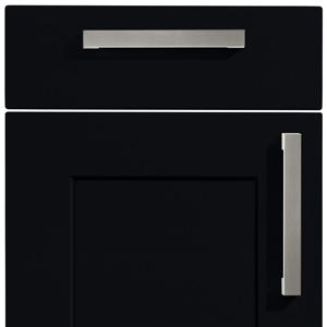 Schwarz softmatt A18