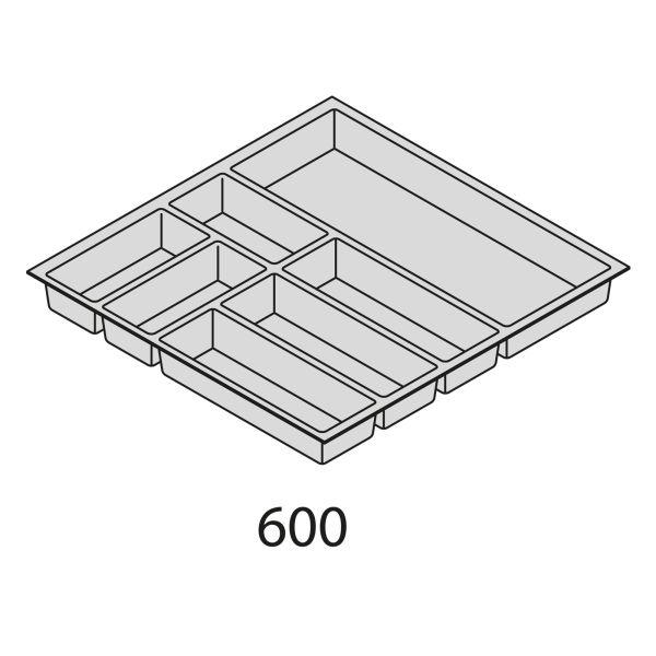 Besteckorganisation Kunststoff BEI60