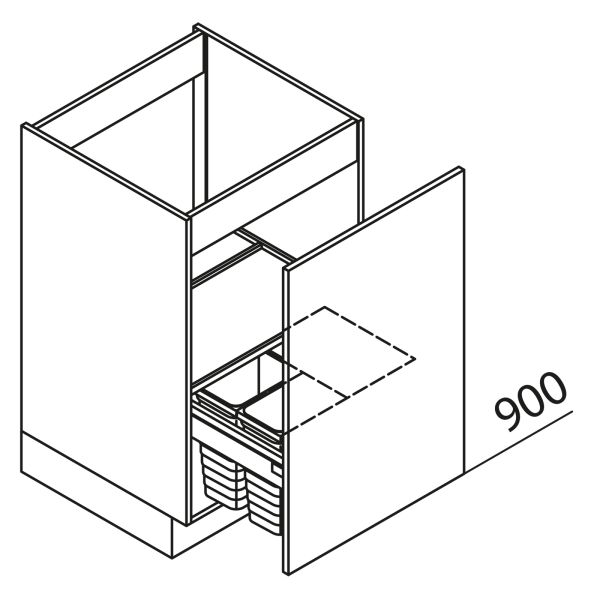 Nolte Küchen Unterschrank Spülenschrank SABHD45-90-6-2