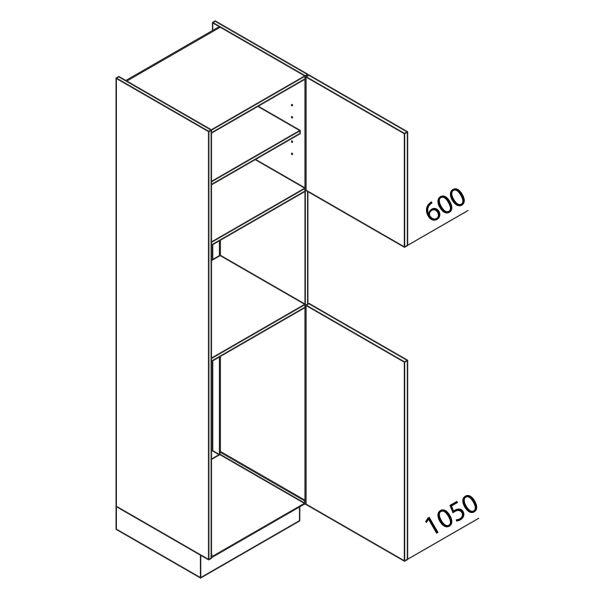 Nolte Küchen Hochschrank Geräteschrank GKB225-103-3