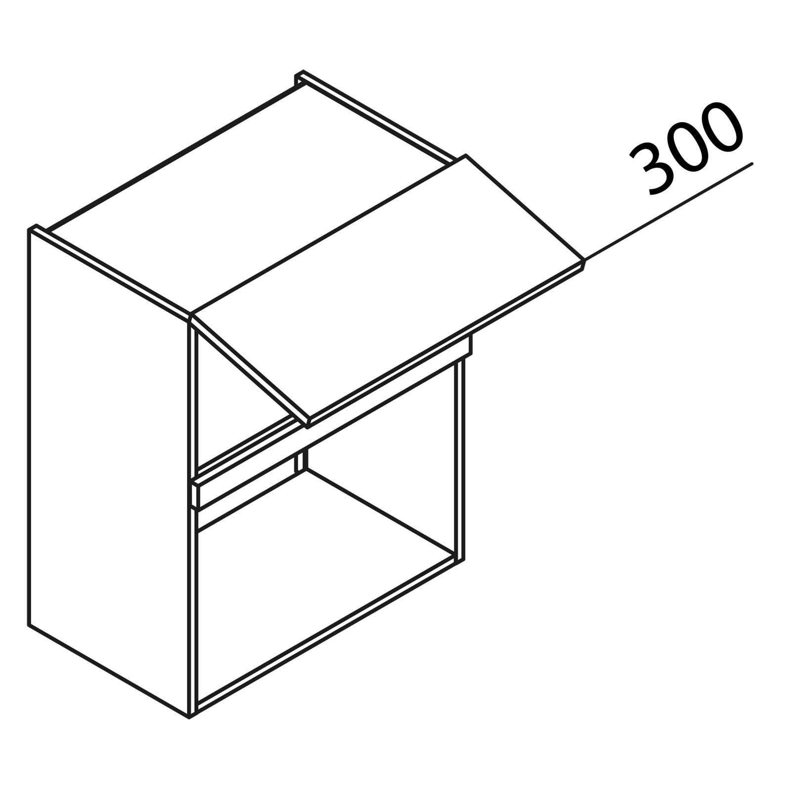 nolte k chen h ngeschrank f r mikrowelle hm60 75 399. Black Bedroom Furniture Sets. Home Design Ideas