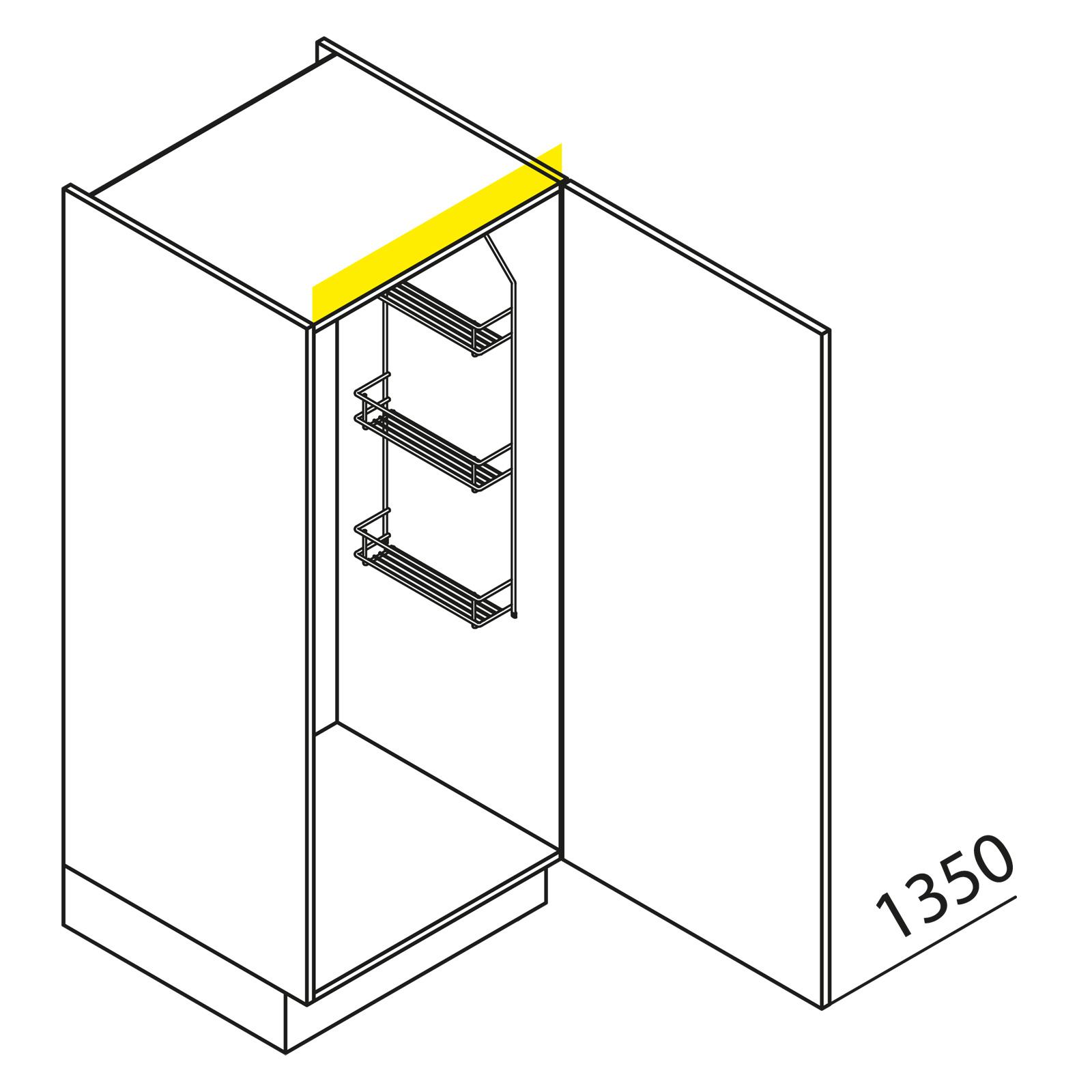 nolte k chen hochschrank besenschrank vb30 135. Black Bedroom Furniture Sets. Home Design Ideas