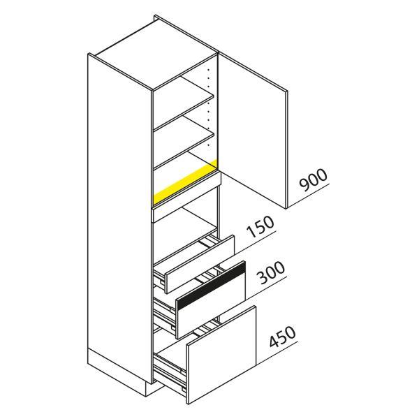 Nolte Küchen Hochschrank Geräteschrank GBZ225-1