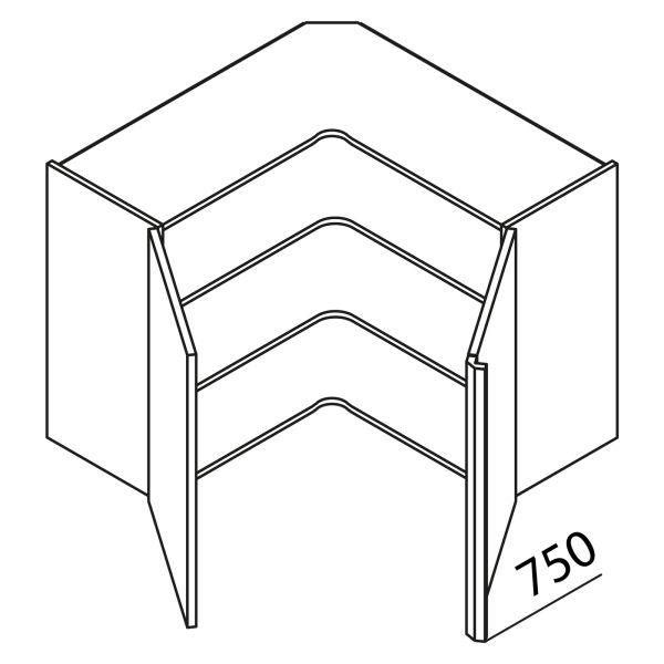 Nolte Küchen Hängeschrank Eckschrank HE80-75-R