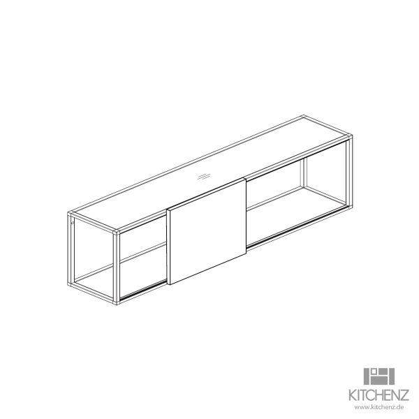 kitchenz k1 Regal Smartcube RSCH3-120ST