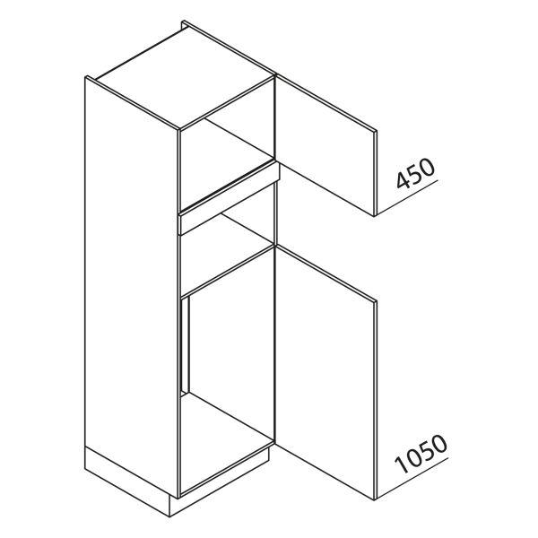 Nolte Küchen Hochschrank Geräteschrank GKB195-103-4