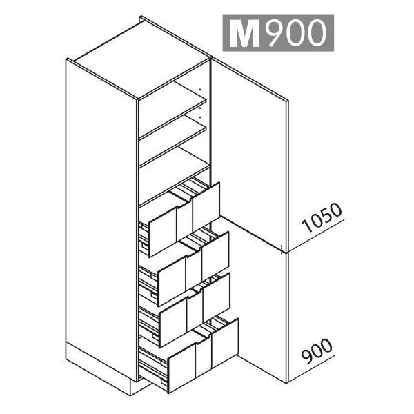 Nolte Küchen Hochschrank VI45-195-U9