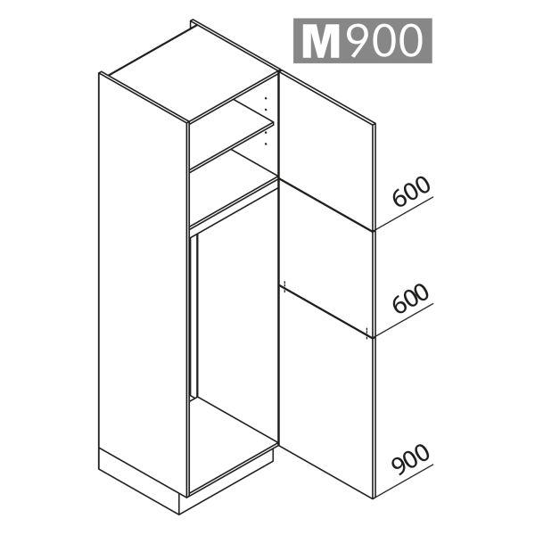 Nolte Küchen Hochschrank Geräteschrank GK210-144-01