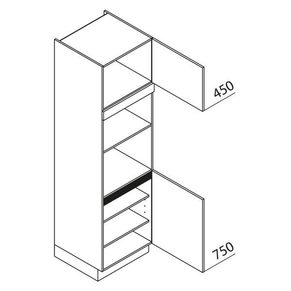 Nolte Küchen Hochschrank Geräteschrank GBB210-2-1