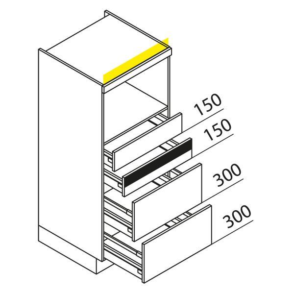 Nolte Küchen Hochschrank Geräteschrank GBAK135-1