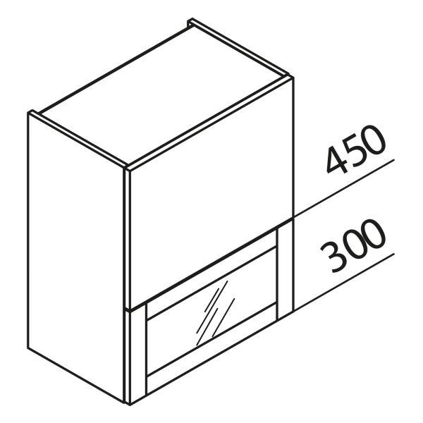 Nolte Küchen Hängeschrank Faltklappenschrank mit Glas HFKVPU50-75