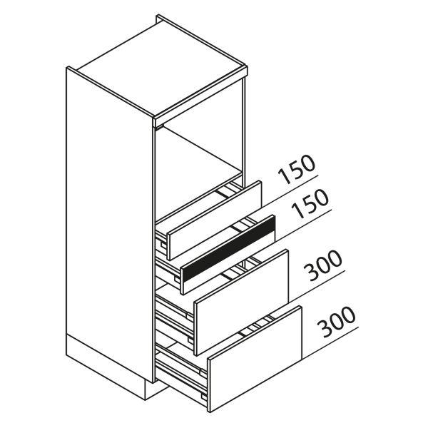 Nolte Küchen Hochschrank Geräteschrank GBAK150-2