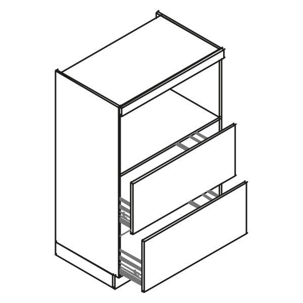 kitchenz k1 Geräteschrank GO10-MZ2-90