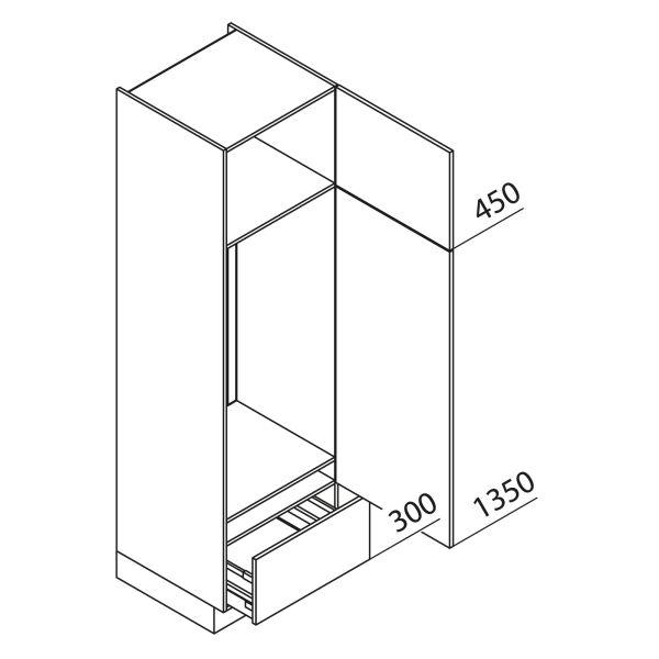 Nolte Küchen Hochschrank Geräteschrank GKA210-123