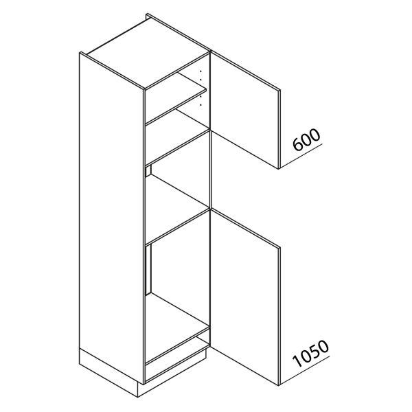 Nolte Küchen Hochschrank Geräteschrank GKB225-88-3