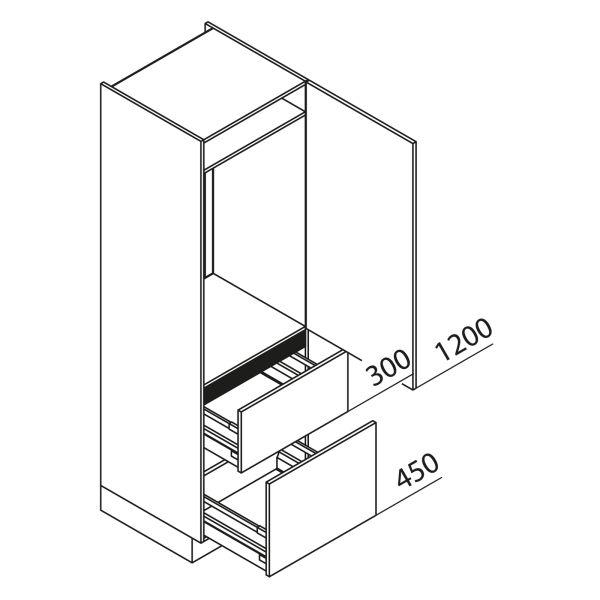 Nolte Küchen Hochschrank Geräteschrank GKZ195-103