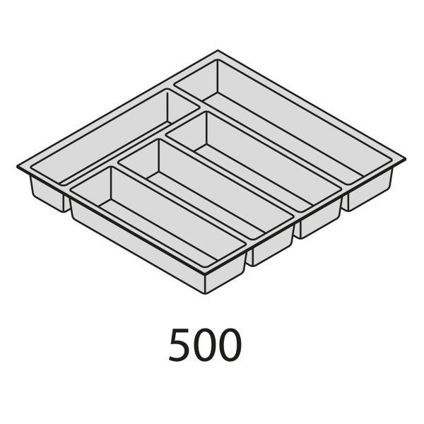 Nolte Küchen Besteckeinsatz Kunststoff BEI50-50