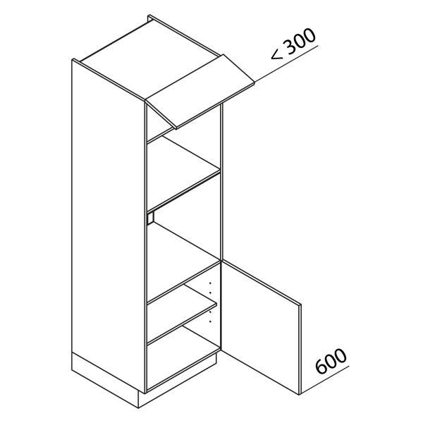 Nolte Küchen Hochschrank Geräteschrank GBB195-3-4