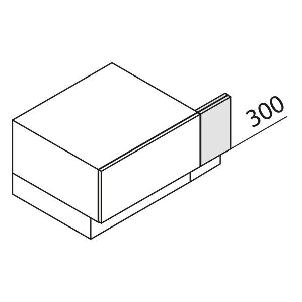 Nolte Küchen Unterschrank Passstück, UP3-30