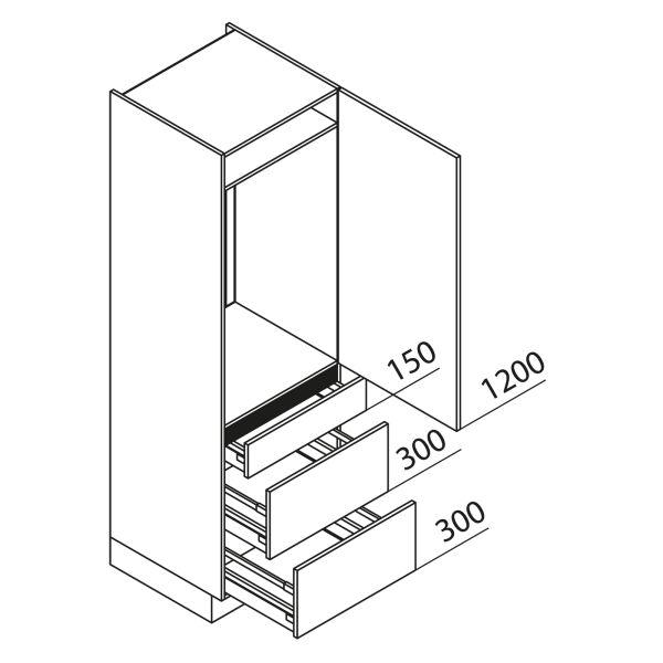 Nolte Küchen Hochschrank Geräteschrank GKAK195-103