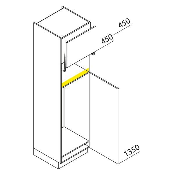 Nolte Küchen Hochschrank Geräteschrank GKL225-123