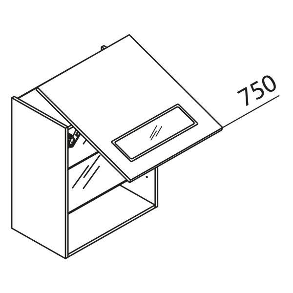 Nolte Küchen Hängeschrank Schwebeklappenschrank mit Glas HLAG45-75